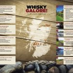VisitScotland Map Highlights Whisky Movie's Sites